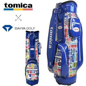 トミカ キャディバッグ CB-4105 ブルー ダイヤゴルフ tomica|daiichigolf