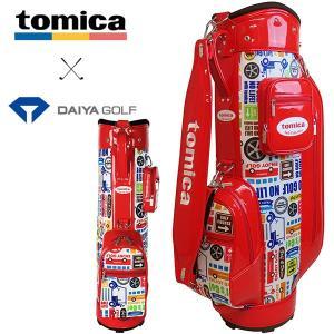 トミカ キャディバッグ CB-4105 レッド ダイヤゴルフ tomica|daiichigolf