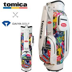 トミカ キャディバッグ CB-4105 ホワイト ダイヤゴルフ tomica|daiichigolf