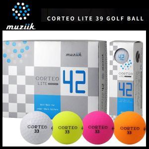 ムジーク コルテオ ライト 42 ゴルフボール 1ダース(12球) muziik CORTEO LITE あすつく|daiichigolf