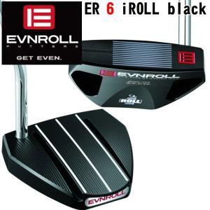 イーブンロールパター ER 6 iROLL Black EVNROLL PUTTER|daiichigolf