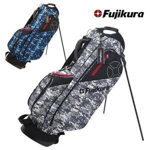 (数量限定)フジクラ(藤倉) ゴルフ スタンド キャディバッグ 9型 デジカモ柄 Fujikura FCB-2001 daiichigolf