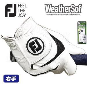 2018 (レフティー・右手用)フットジョイ ウェザーソフ ゴルフグローブ FOOT JOY WeatherSof (FGWF18LH)あすつく|daiichigolf