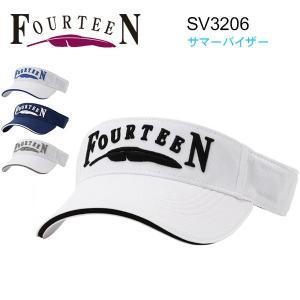 フォーティーン サマー バイザー FOURTEEN 帽子 SV3206 あすつく|daiichigolf