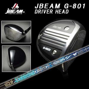 (特注カスタムクラブ) JBEAM Jビーム G-801 ドライバー クライムオブエンジェル ライトニングエンジェルシャフト|daiichigolf