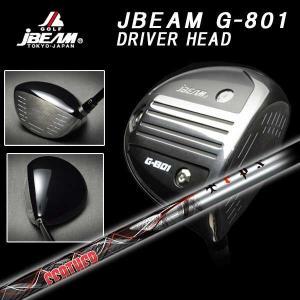 (特注カスタムクラブ) JBEAM Jビーム G-801 ドライバー TRPX(ティーアールピーエックス)Feather(フェザー) シャフト daiichigolf