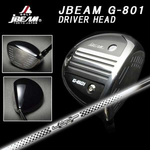 (特注カスタムクラブ) JBEAM Jビーム G-801 ドライバー シンカグラファイト LOOPプロトタイプHDシャフト daiichigolf