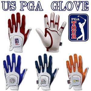 US PGA ゴルフグローブ GL-3007、3008、3009、3010 合成皮革 ネコポス対応|daiichigolf