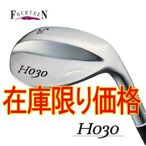 フォーティーン H030 ウェッジ 純正スチール(NS950GH HT)シャフト|daiichigolf