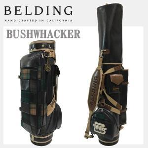 ベルディング キャディバッグ ブッシュワーカー<br>8.5型 パッチワーク<br>BELDING HBCB-850106|daiichigolf