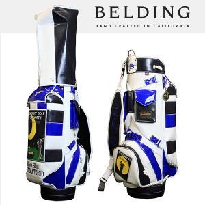 ベルディング キャディバッグ ファットビー ムーンライト ゴルフ 9.5型 HBCB-950087|daiichigolf