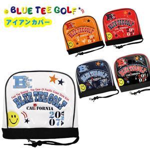 ブルーティーゴルフ エナメル アイアンカバー BLUE TEE GOLF HC-011 あすつく|daiichigolf
