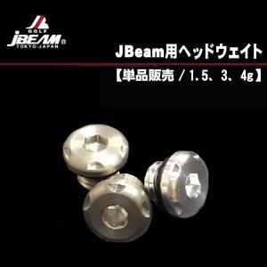 Jビーム ドライバー用ヘッドウェイト 1個 (1.5g・3g・4g)|daiichigolf
