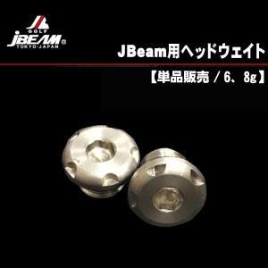 Jビーム ドライバー用ヘッドウェイト 1個  (6g・8g) あすつく|daiichigolf