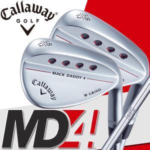 日本正規品 キャロウェイ マックダディ4 ウェッジ(MD4) MACK DADDY クロムメッキ 仕上げ N.S.PRO 950GH(S)|daiichigolf