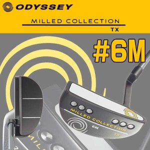 オデッセイ ミルドコレクションTX #6M パター ODYSSEY MILLED COLLECTION TX PUTTER|daiichigolf