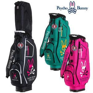 (ポイント10倍)サイコバニー キャディバッグ 9型 スポーツカジュアル ゴルフバッグ PBMG0FC2 Psycho Bunny SPORT CASUAL|daiichigolf
