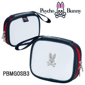 (送料無料)サイコバニー PB インバーク ゴルフ 小物ケース ポーチ  PSYCHO BUNNY PB EMBARK GOLF  PBMG0SB3 あすつく|daiichigolf