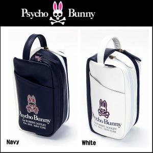 サイコバニー 20s カートカスケードポーチ Psycho Bunny PBMG7SB6 daiichigolf