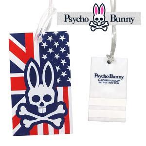 サイコバニー A/Aフラッグ ライト ネームタグ Psycho Bunny PB A/A FLAG LITE PBMG7SE5 あすつく|daiichigolf