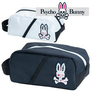 (送料無料)サイコバニー WIT S/B ラウンドポーチ Psycho Bunny PBMG8FB5 あすつく|daiichigolf