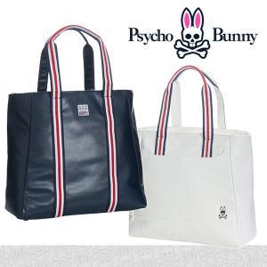 サイコバニーA/A FLAG トートバッグ Psycho Bunny PBMG8SB1|daiichigolf