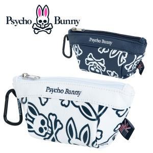 (送料無料)サイコバニー モノグラム ゴルフケース ポーチ Psycho Bunny PBMG9FZ3 あすつく|daiichigolf