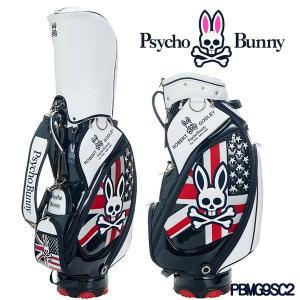 サイコバニー キャディバッグ 9型 A/A ゴルフバッグ PBMG9SC2 Psycho Bunny A/A GOLF BAG|daiichigolf