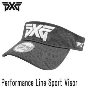 PXG PERFORMANCE LINE SPORT VISOR ADJUSTABLE VERCRO ブラック (PXG正規品) daiichigolf