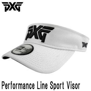 PXG PERFORMANCE LINE SPORT VISOR ADJUSTABLE VERCRO ホワイト (PXG正規品) daiichigolf