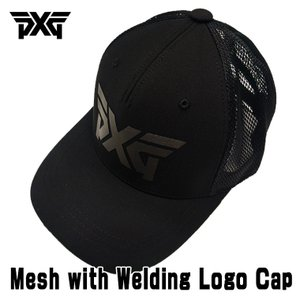 PXG Mesh with Welding Logo Cap ブラック daiichigolf