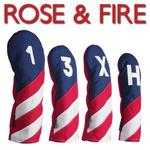 ローズアンドファイアー ヘッドカバーフリーダム (DR用、3番、FW用、UT用) ROSE&FIRE|daiichigolf
