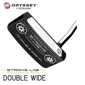 オデッセイ ストローク ラボ ブラック  ダブルワイド パター ODYSSEY STROKE RAB BLACK #DOUBLE WIDE PUTTER|daiichigolf