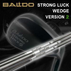 バルド ストロングラック ウェッジ バージョン2 BALDO STRONG LUCK WEDGE VERSION 2 エアロテック スチールファイバーシャフト|daiichigolf