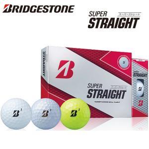 ブリヂストン 2019 ゴルフボールスーパーストレート 1ダース(12球)BRIDGESTONE GOLF SUPER STRAIGHT あすつく|daiichigolf