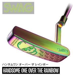 (米国発売開始1周年記念) SWAG GOLF スワッグゴルフ ハンサムワン オーバーザレインボー パター|daiichigolf