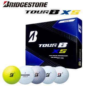 ブリヂストンゴルフ ツアービー・エックスエス ゴルフボール 1ダース(12球) BRIDGESTONE GOLF TOUR B XS|daiichigolf