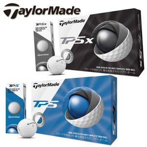 2019年モデル テーラーメイド TP5・TP5x ゴルフボール 1ダース 12球 TaylorMade あすつく 日本正規品|daiichigolf