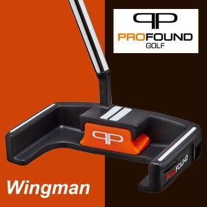 プロファウンドゴルフ Wingman ウイングマンパター|daiichigolf