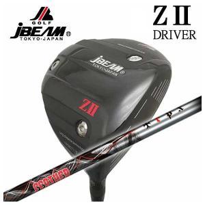 (特注カスタムクラブ) JBEAM ジェイビーム Z2 ゼッツー ドライバー TRPX(ティーアールピーエックス) Feather(フェザー) シャフト|daiichigolf