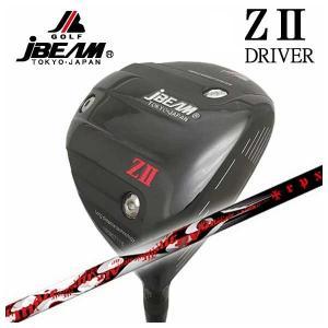 (特注カスタムクラブ) JBEAM ジェイビーム Z2 ゼッツー ドライバー TRPX(ティーアールピーエックス) Air(エアー) シャフト|daiichigolf