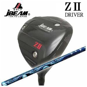 (特注カスタムクラブ) JBEAM ジェイビーム Z2 ゼッツー ドライバー TRPX(ティーアールピーエックス) Aura(アウラ) シャフト|daiichigolf