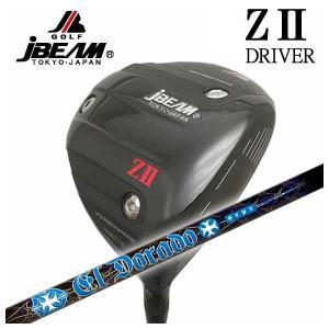 (特注カスタムクラブ) JBEAM ジェイビーム Z2 ゼッツー ドライバー TRPX(ティーアールピーエックス) El Dorado(エルドラド) シャフト|daiichigolf