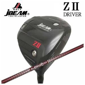 (特注カスタムクラブ) JBEAM ジェイビーム Z2 ゼッツー ドライバー シンカグラファイト LOOPプロトタイプ LXシャフト|daiichigolf