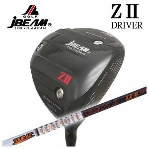 (特注カスタムクラブ) JBEAM ジェイビーム Z2 ゼッツー ドライバー グラファイトデザイン Tour-AD IZシャフト daiichigolf