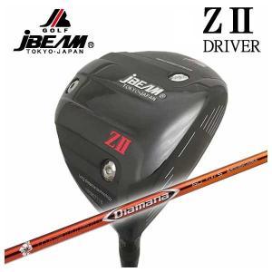 (特注カスタムクラブ) JBEAM ジェイビーム Z2 ゼッツー ドライバー 三菱ケミカル ディアマナRF シャフト|daiichigolf