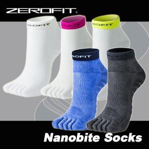 ゼロフィット ナノバイト ソックス ショートカット 5本 ZEROFIT Nanobite Socks|daiichigolf