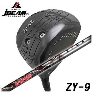 (特注カスタムクラブ) JBEAM(Jビーム) ZY-9 ドライバー クライムオブエンジェル フェザー(Feather)シャフト|daiichigolf