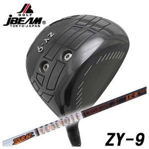 (特注カスタムクラブ) JBEAM(Jビーム) ZY-9 ドライバー グラファイトデザイン Tour-AD IZシャフト daiichigolf