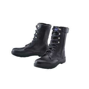85023 本格仕様の長編上安全靴 天然牛革使用 JIS規格合格品 サイドファスナー XEBEC ジーベック 24.0〜29.0cm セーフティシューズ ワークブーツ|daijirounet